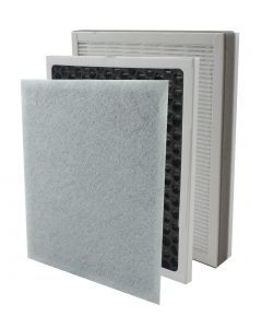 InvisiClean True Hepa / Activated Carbon Replacement Filter for IC-3012 - IC-3012-Hepa-C-Filter